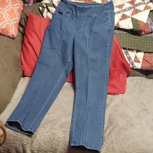 Women's Denim & Co. High Waisted Jeans